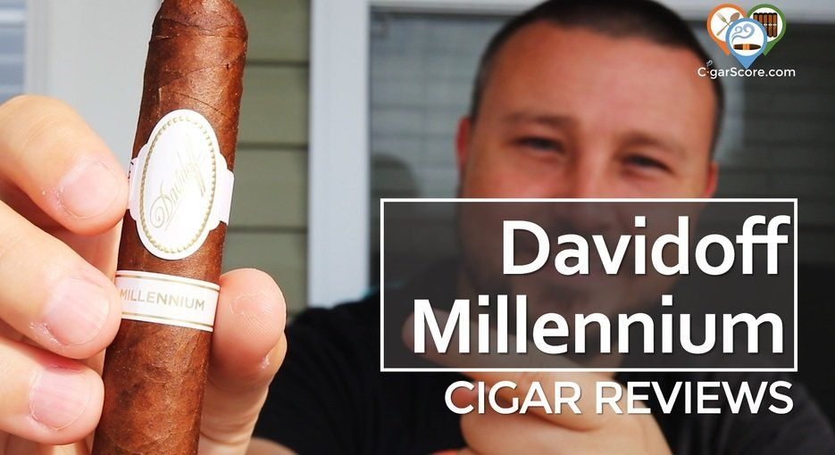 cigar review davidoff millennium robusto