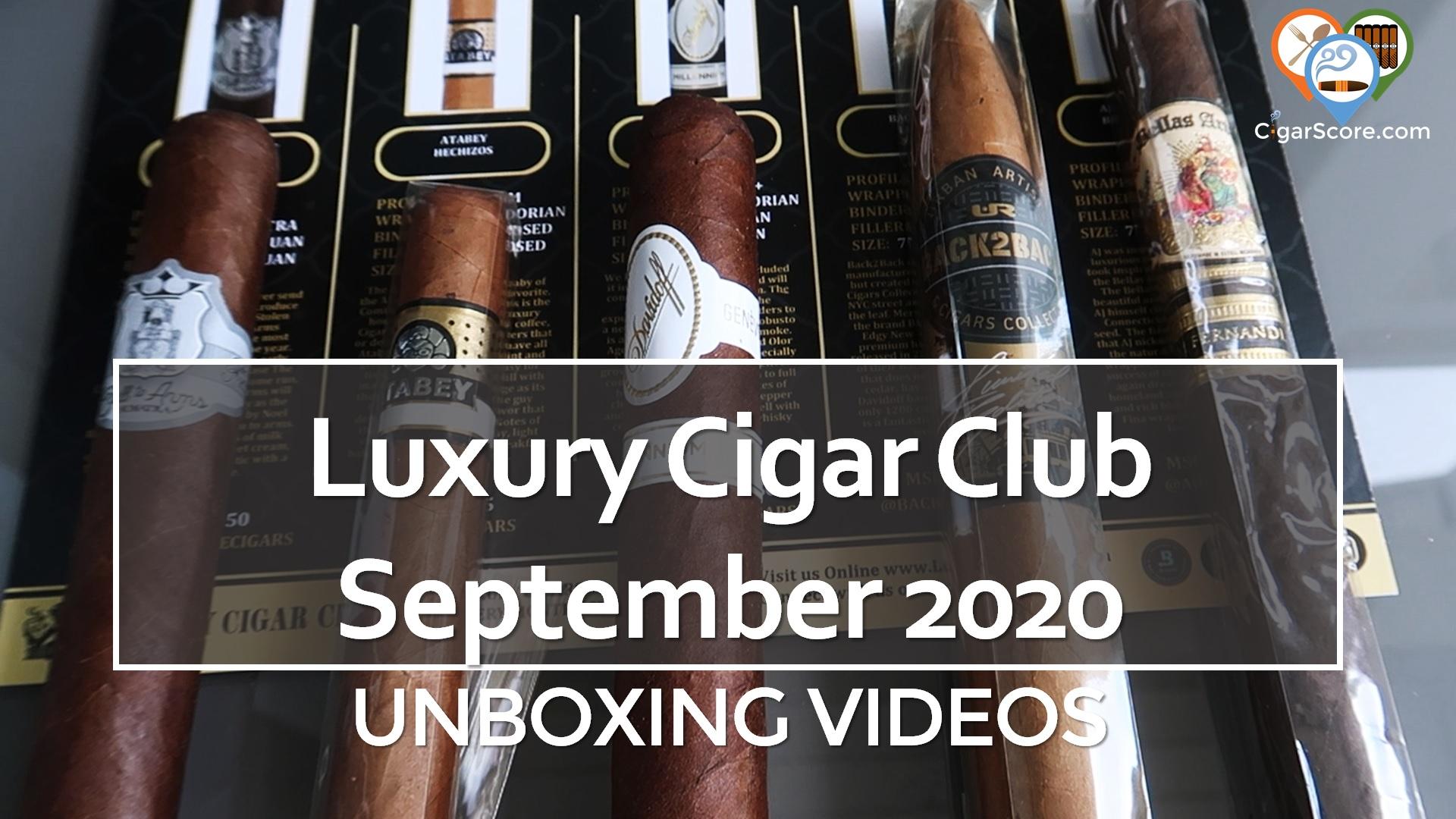 luxury cigar club september 2020