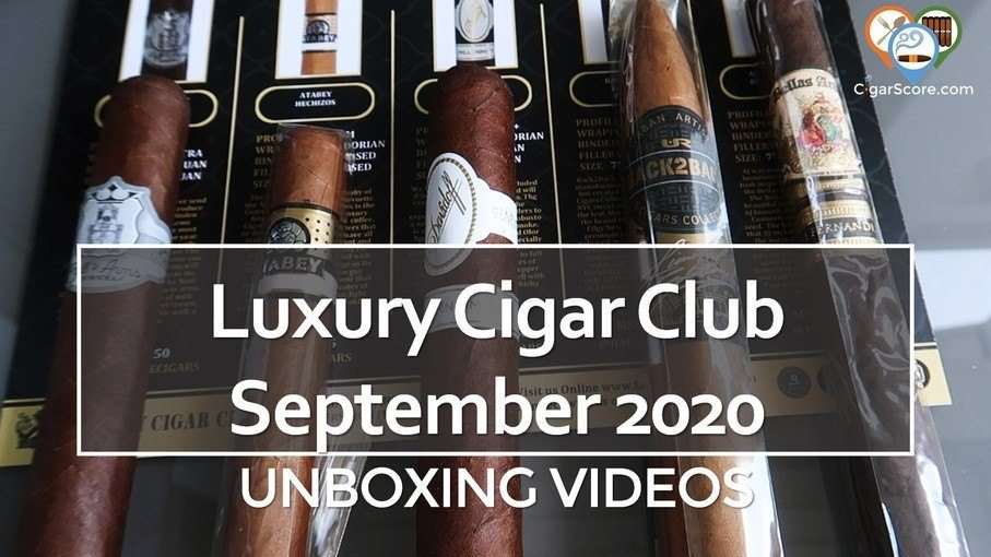 luxury cigar club september 2020