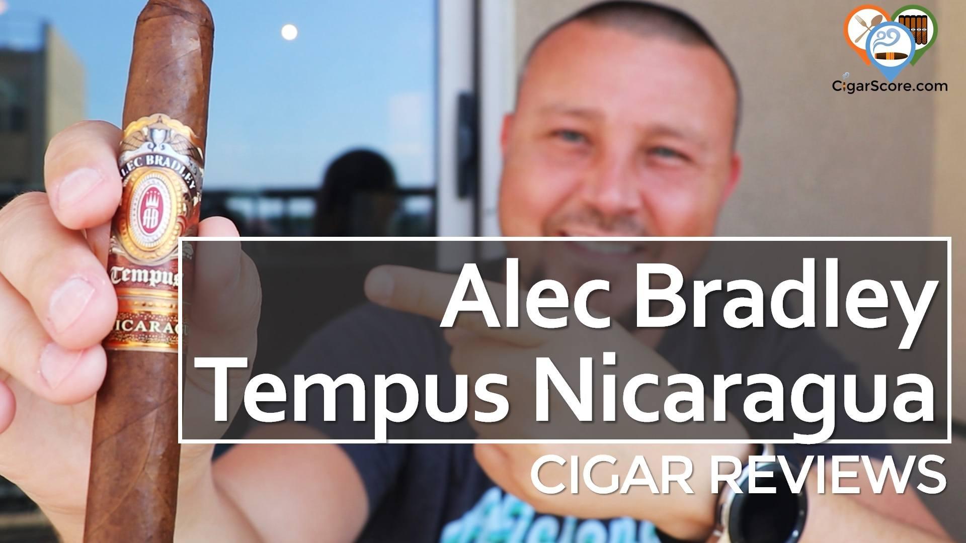Cigar Review Alec Bradley Tempus Nicaragua Medius 6