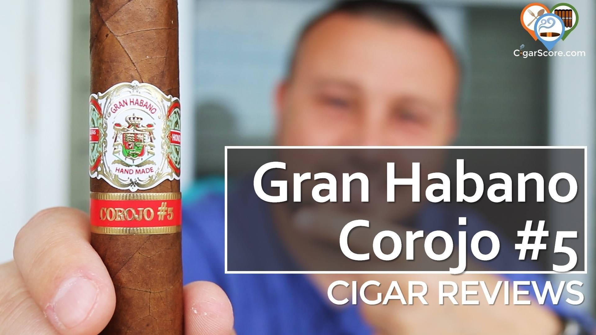 Cigar Review Gran Habano Corojo #5 Gran Robusto