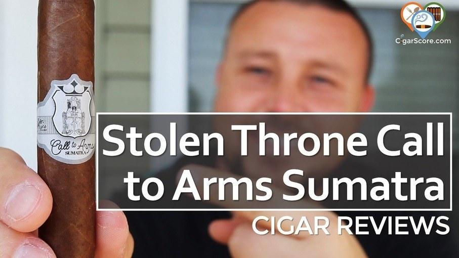 Cigar Review: Stolen Throne Call to Arms Sumatra Corona