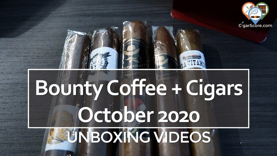 UNBOXING – Bounty Box Coffee + Cigars OCTOBER 2020
