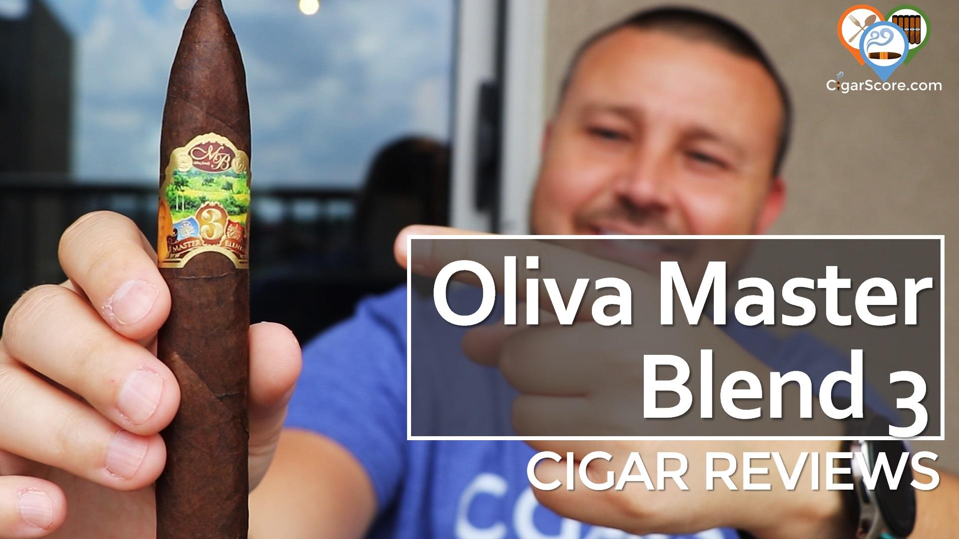 oliva master blend 3 cigar review