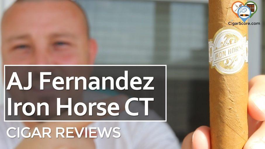 Cigar Review AJ Fernandez Iron Horse Connecticut Toro