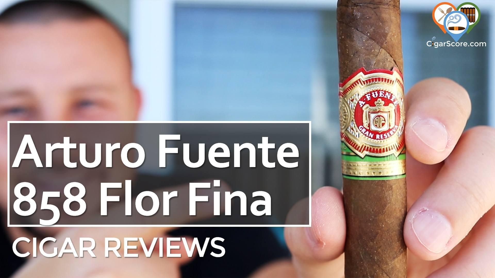 Cigar Review Arturo Fuente 858 Flor Fina