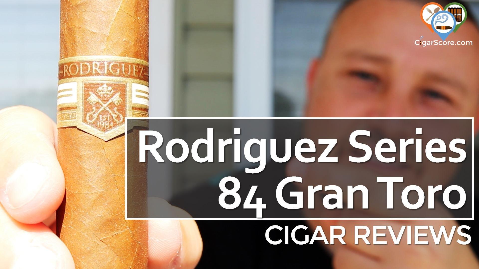 Cigar Review - Rodriguez Series 84 Natural Gran Toro