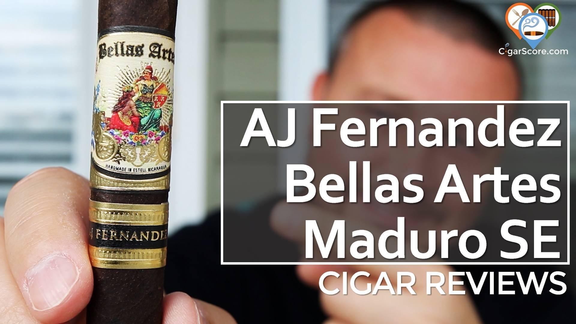 Cigar Review AJ Fernandez Bellas Artes Maduro Lancero Special Edition