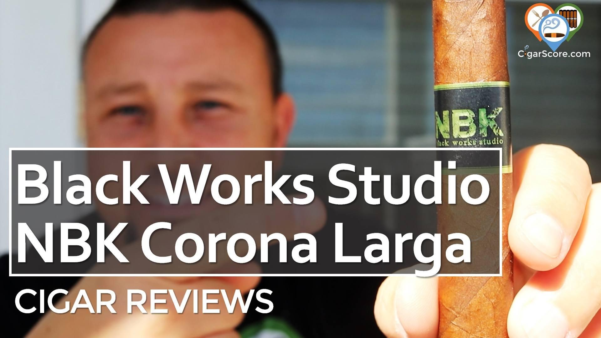 Cigar Review Black Works Studio NBK Corona Larga