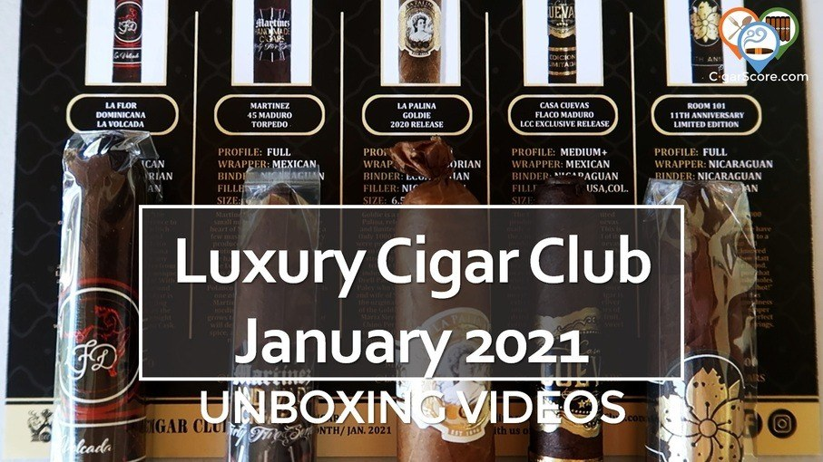 UNBOXING – Luxury Cigar Club JANUARY 2021