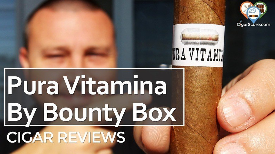 Cigar Review Bounty Box Pura Vitamina Bounty cigars coffee