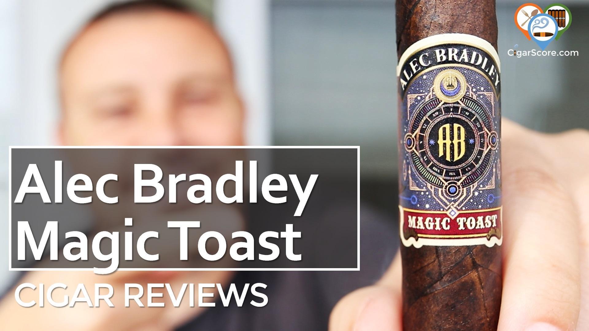 Cigar Review Alec Bradley Magic Toast Toro
