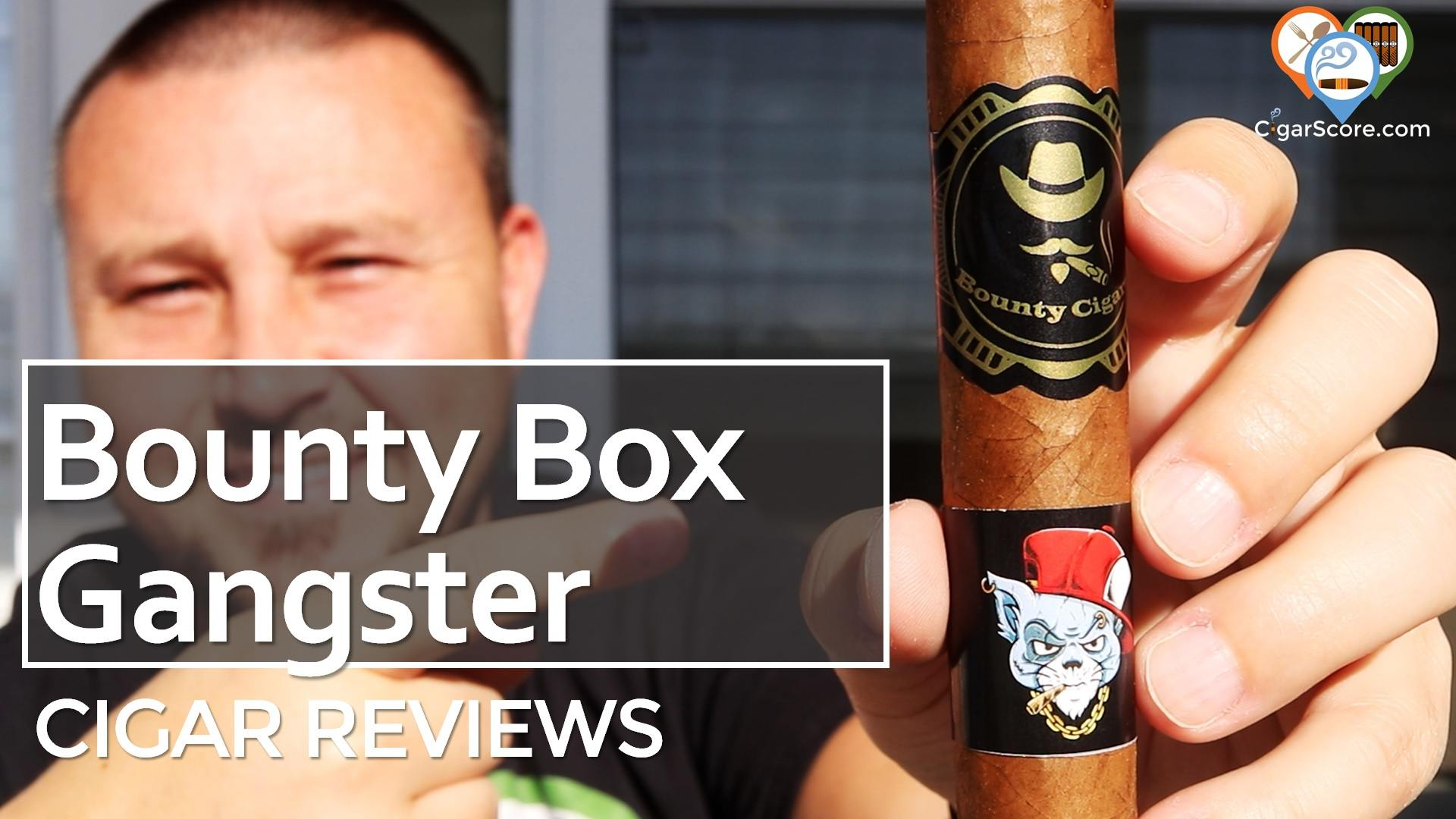 Cigar Review Bounty coffee cigars Box Gangster