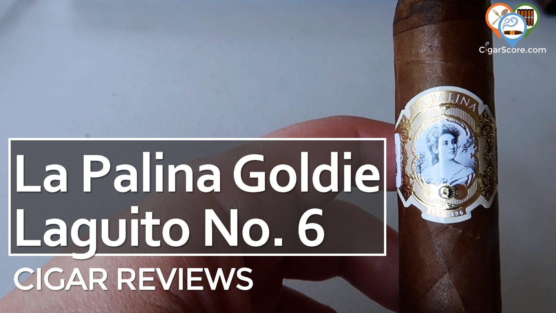 Cigar Review La Palina Goldie Laguito No 6