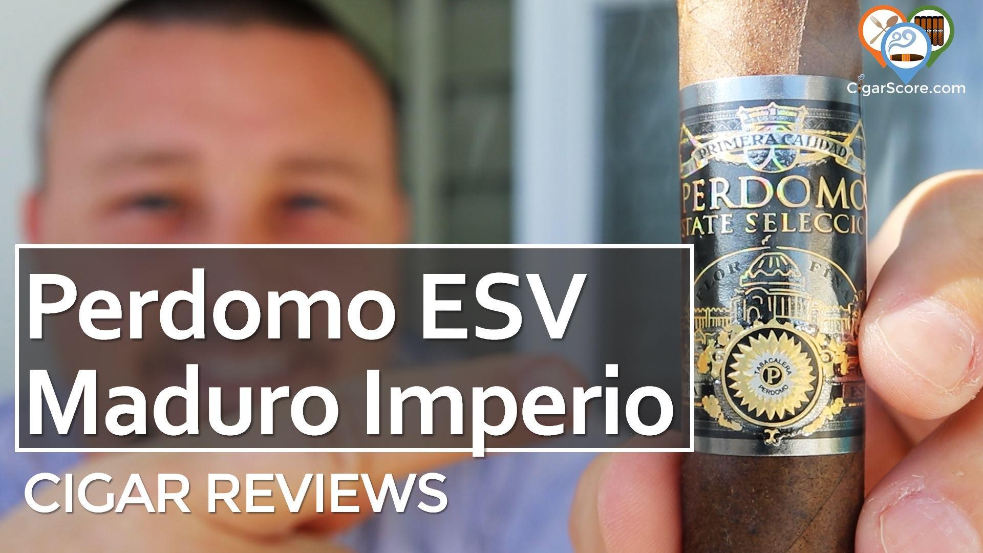 Cigar Review Perdomo Estate Selection Vintage Maduro Imperio Toro