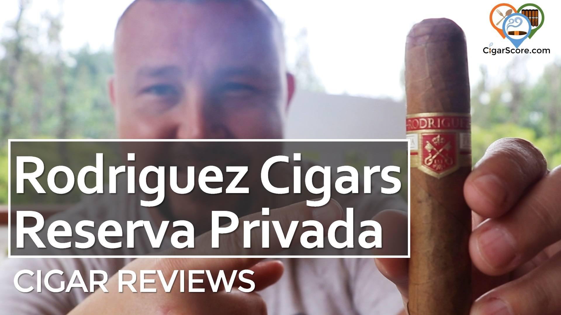 Cigar Review Rodriguez Cigars Reserva Privada Robusto