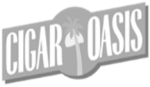 cigar oasis logo 2021 cropped grayscale