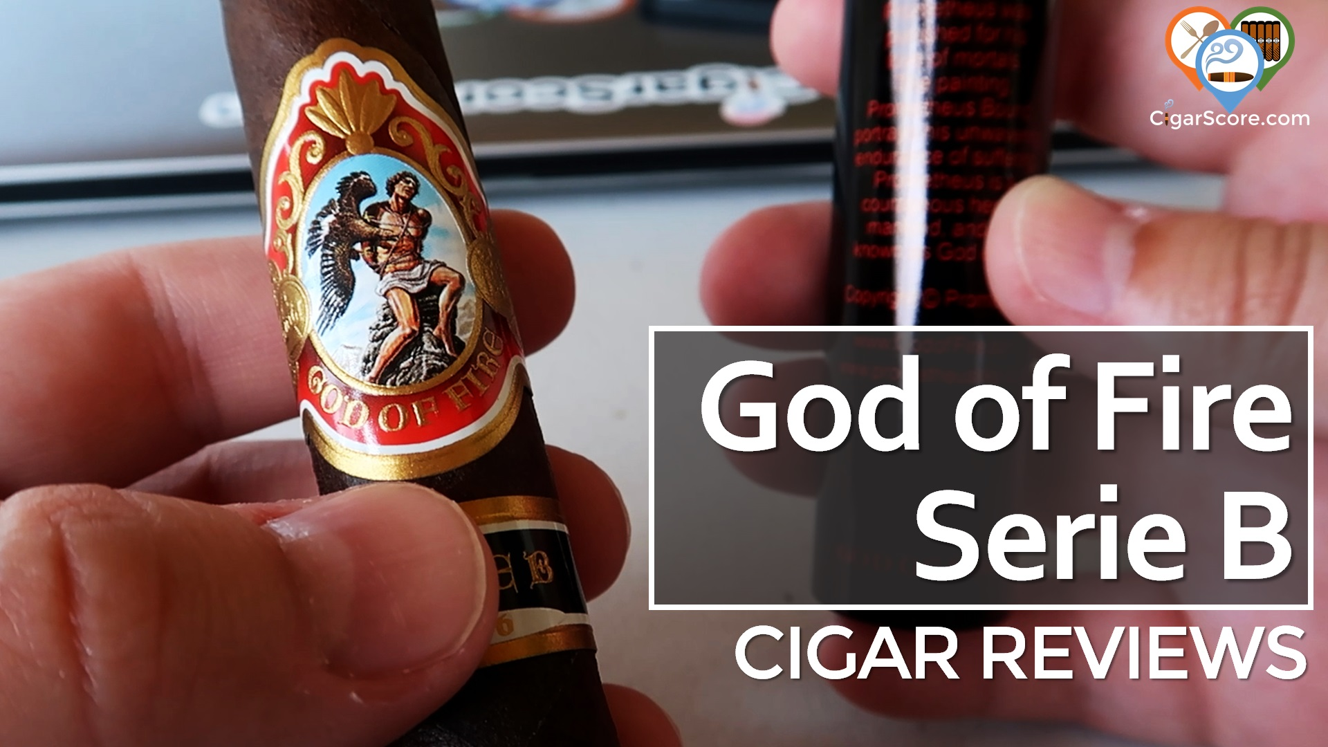 Cigar Review God of Fire Serie B Robusto Tubo