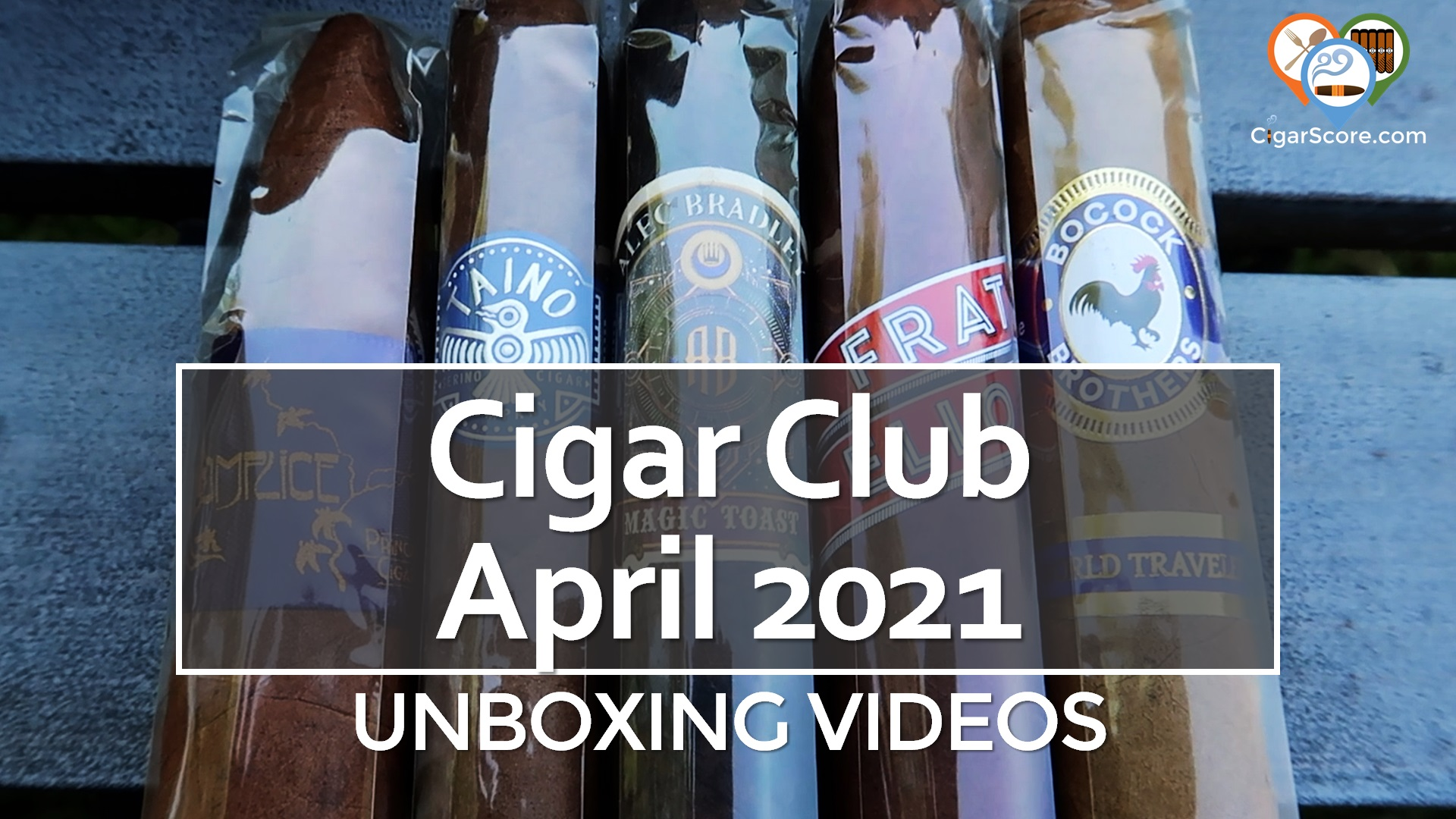 UNBOXING – CigarClub APRIL 2021