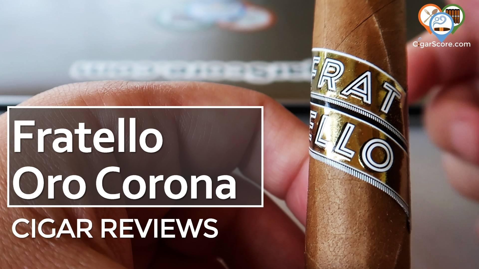 Cigar Review Fratello Oro Corona