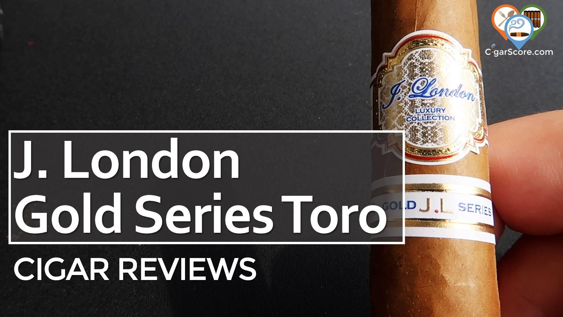 Cigar Review J. London Gold Series Toro