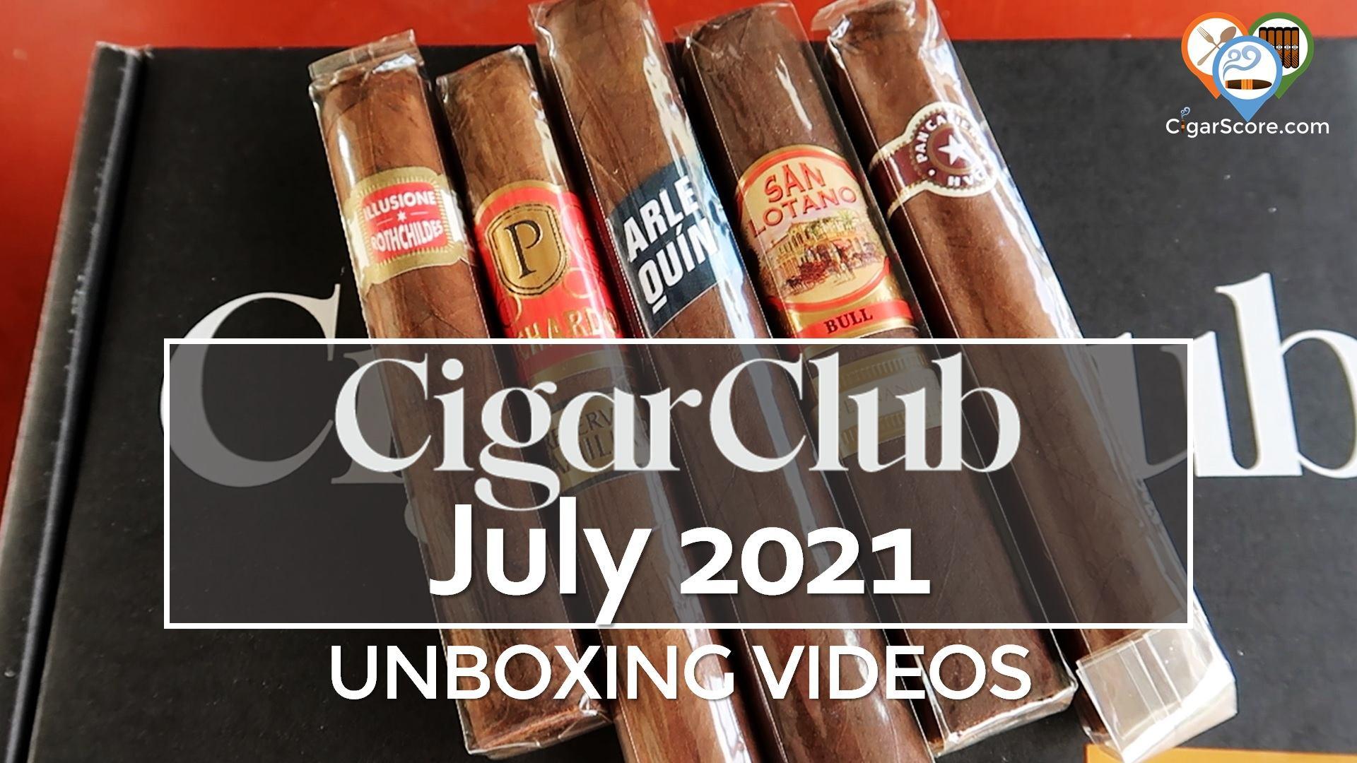 CigarClub JULY 2021