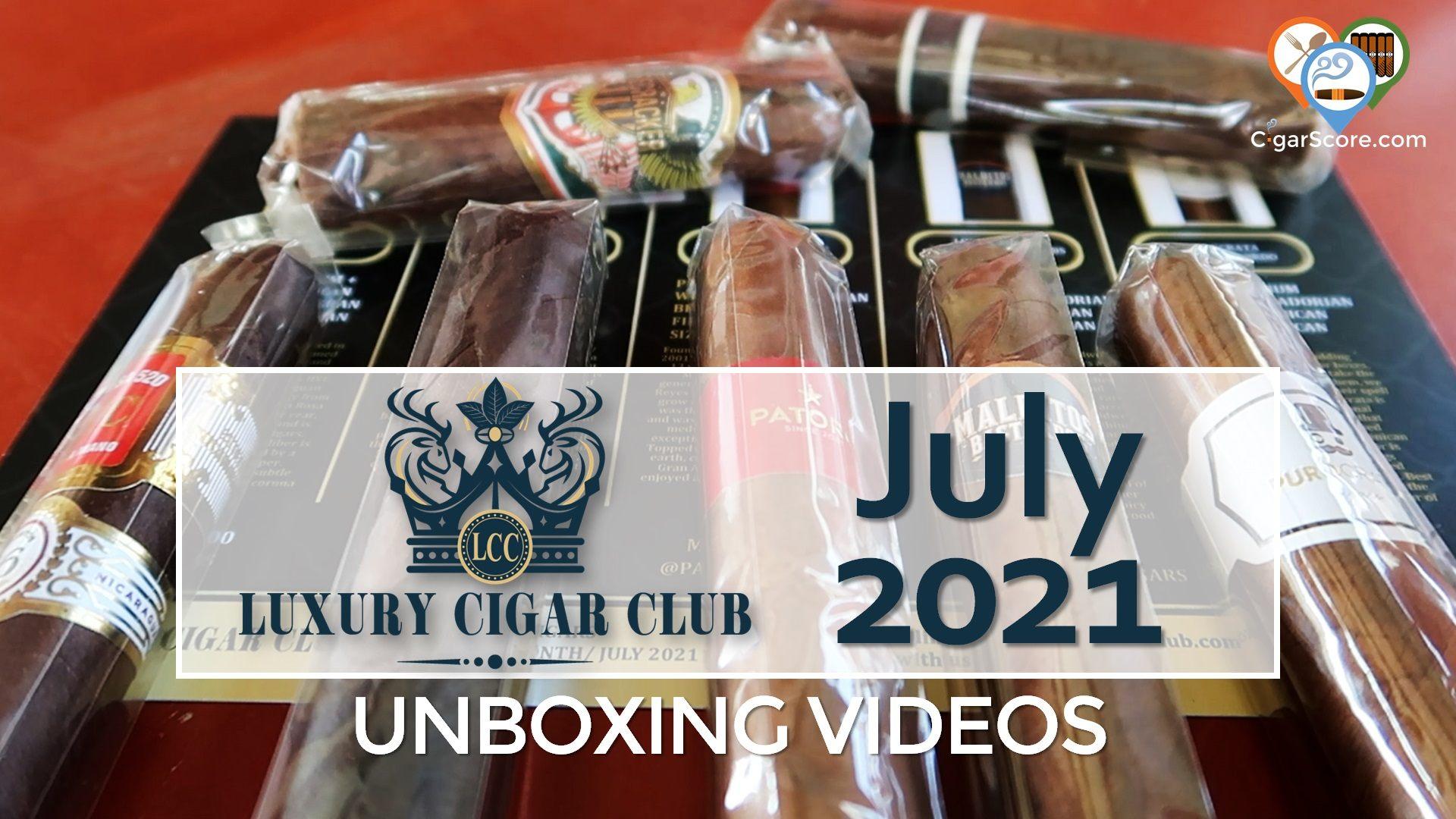 Unboxing - Luxury Cigar Club 2021 July