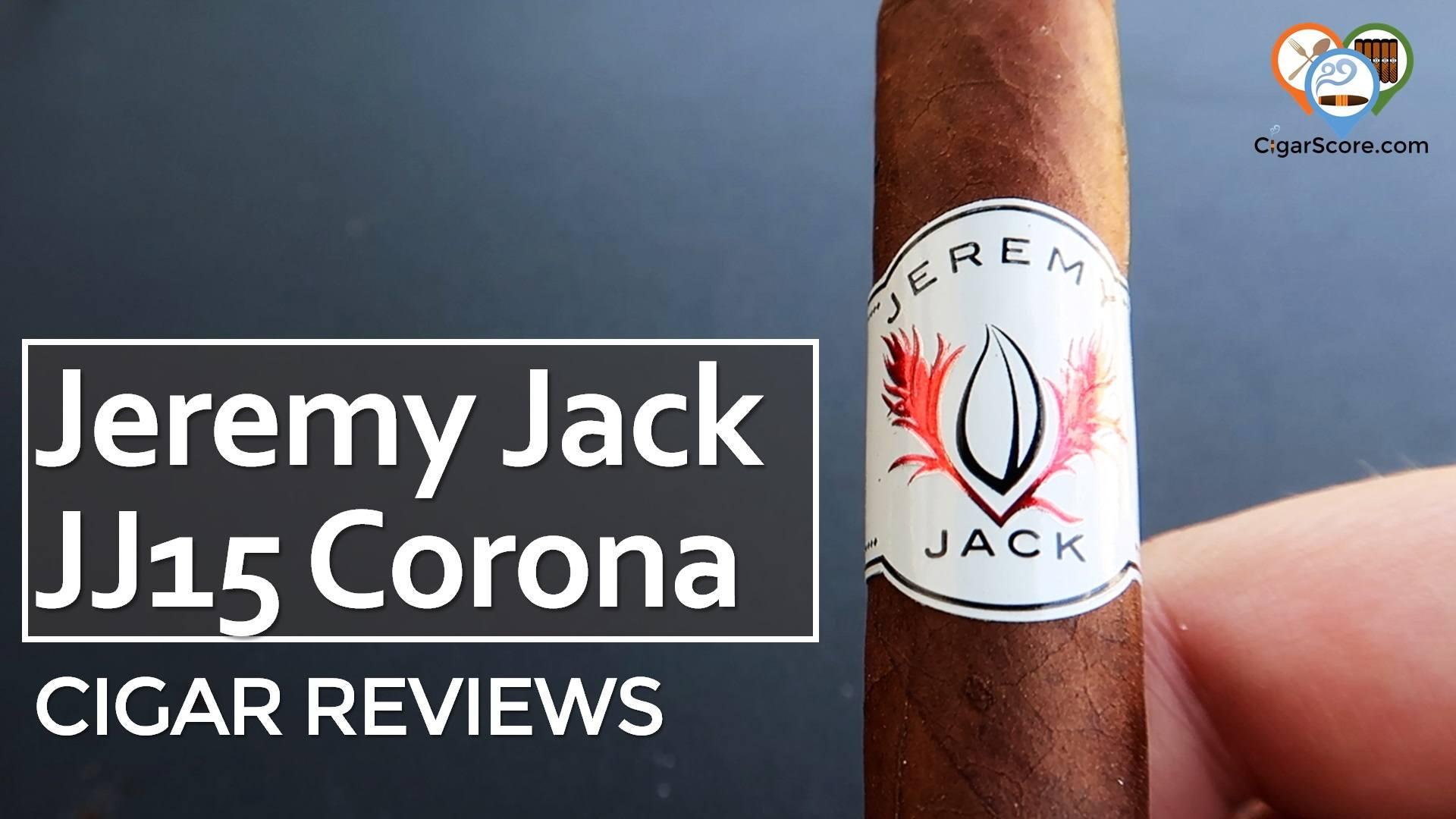 Cigar Review Jeremy Jack JJ15 Corona