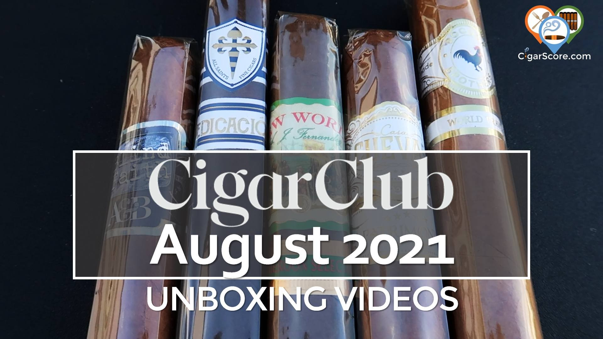 Unboxing - CigarClub August 2021