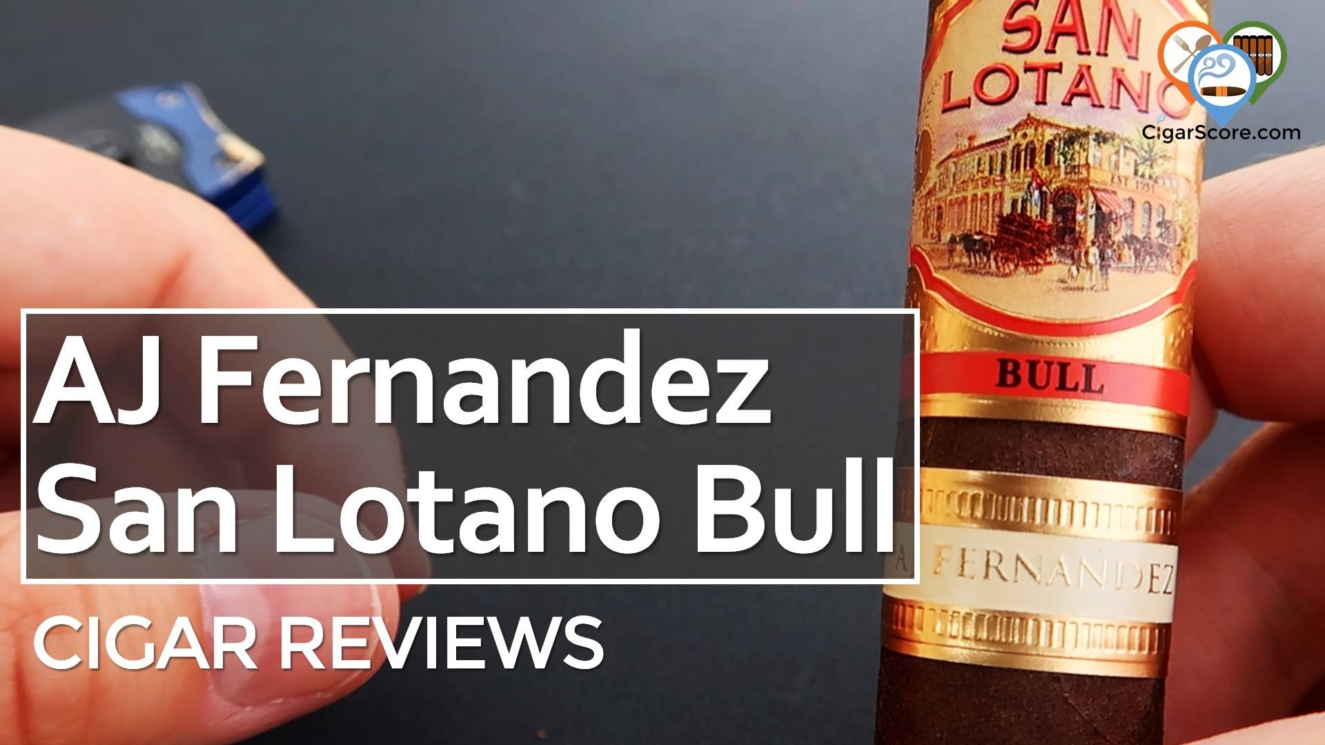 Cigar Review AJ Fernandez San Lotano Bull Robusto