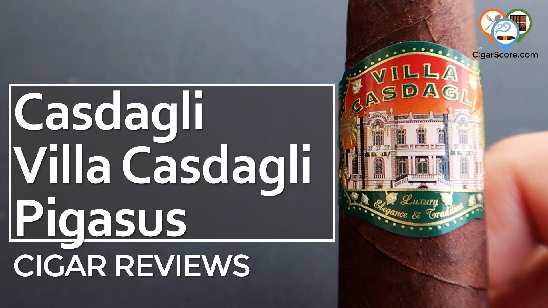 Cigar Review Casdagli Villa Casdagli Pigasus