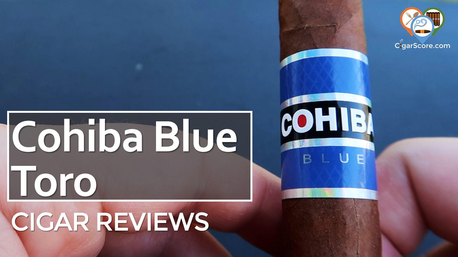 Cigar Review Cohiba Blue Toro