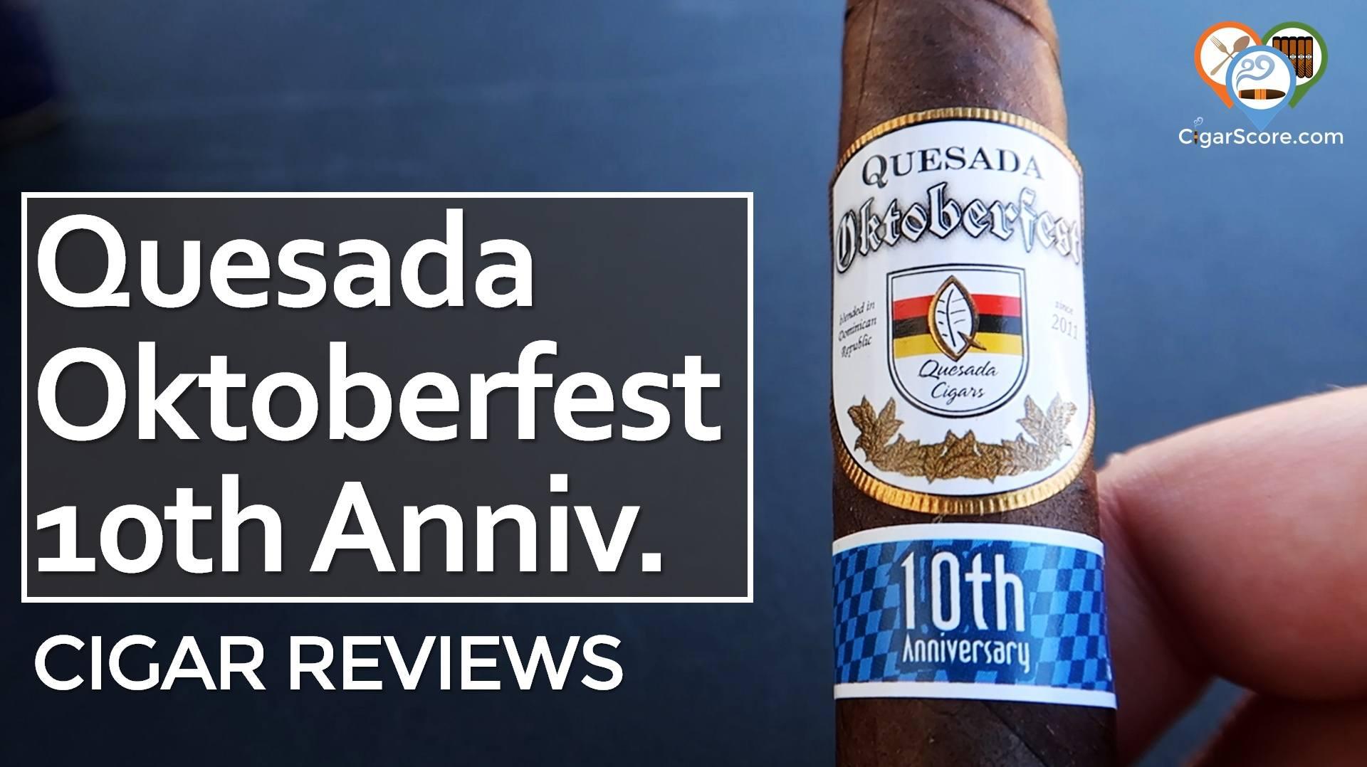 Cigar Review Quesada Oktoberfest 10th Anniversary Das Boot Torpedo