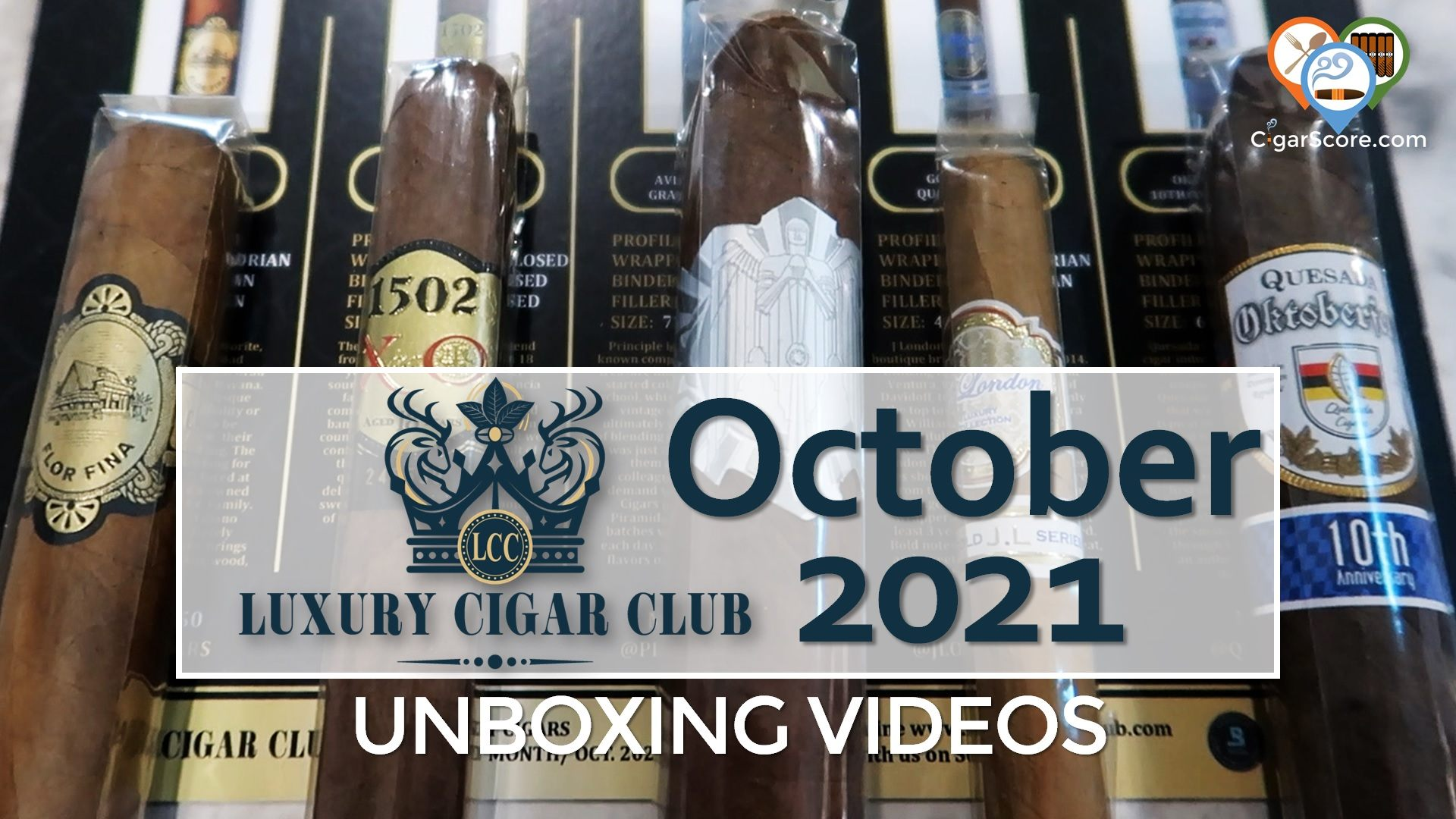 UNBOXING – Luxury Cigar Club OCTOBER 2021